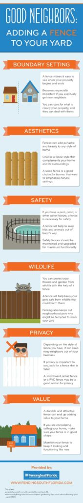 Good Neighbors: Adding a Fence to Your Yard
